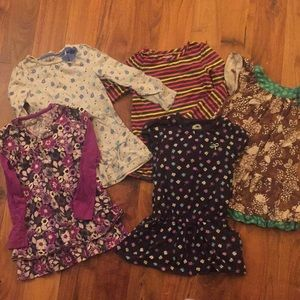 Collection of size 5 Oshkosh long tops